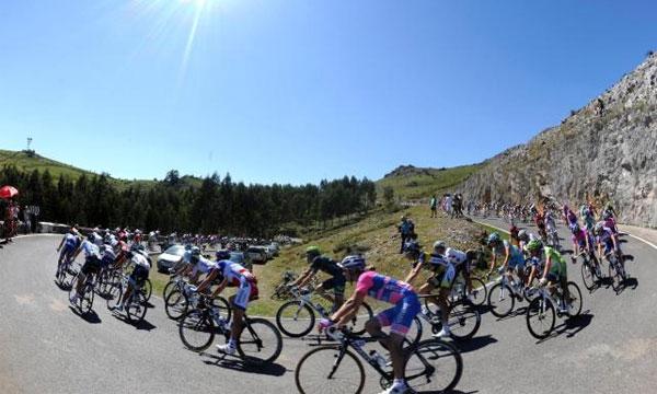 Fotografía de la Vuelta Ciclista a España 2012