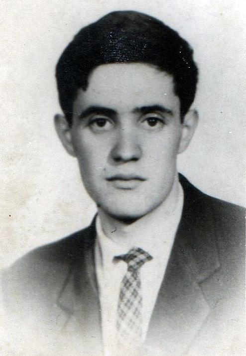Antigua fotografía de José Vaquero Iglesias. Fotografía cedida por la familia Vaquero
