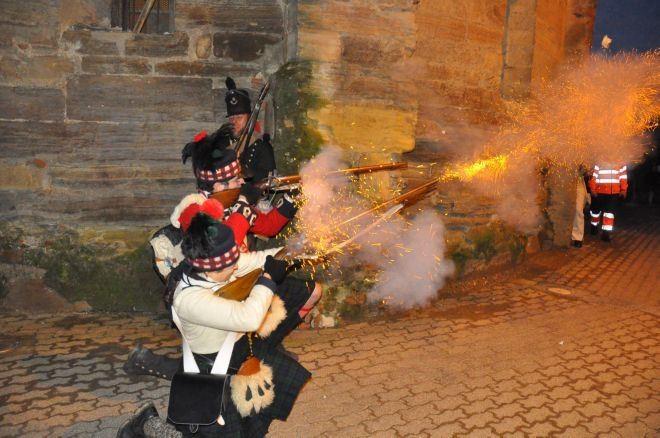 Tiradores de Escocia, tierra natal de Sir John Moore, también participarán en la batalla