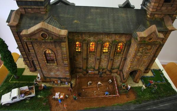 Detalle del diorama 'El quinto mandamiento' (C. Sánchez/Ical)