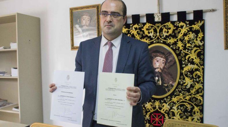 Marco Morala es reelegido mayordomo de la Hermandad de Jesús ...