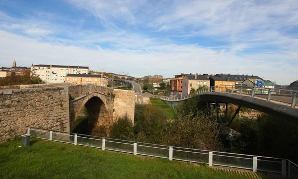 El Puente Boeza original, a la izquierda (C. Sánchez/Ical)