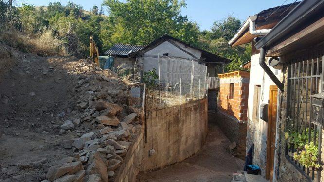 Muro derribado de Villar