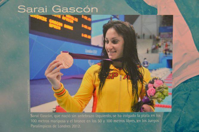 exposición deportistas femeninas
