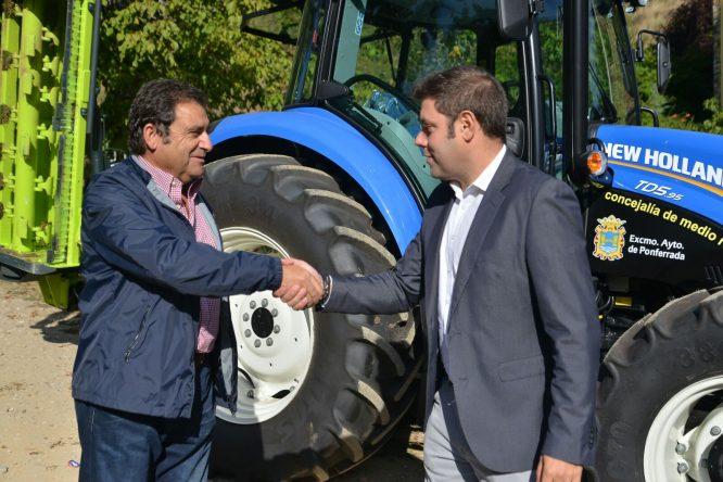 coalición por el bierzo cb tractor
