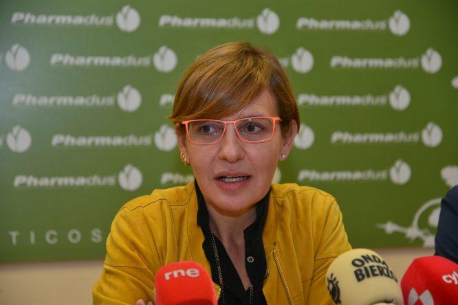Beatriz Escudero, consejera delegada de Pharmadus. / QUINITO