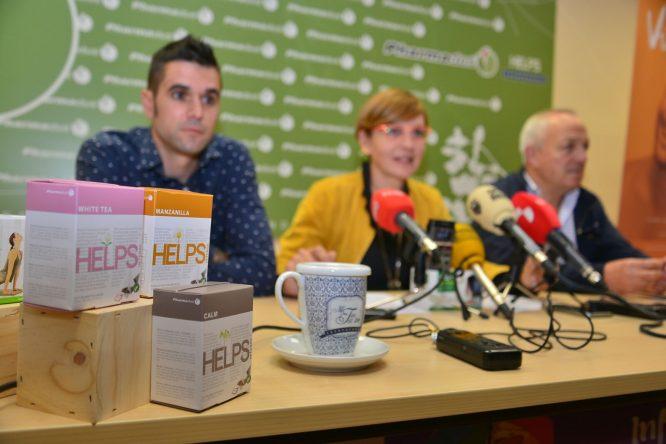 Dani Velasco, Beatriz Escudero y Alfredo de Arriba durante la presentación. / QUINITO