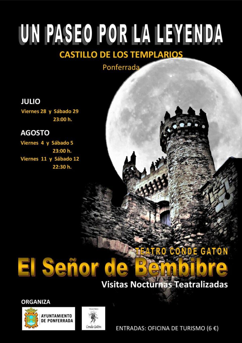 Visitas teatralizadas nocturnas al castillo de los for Oficina turismo astorga