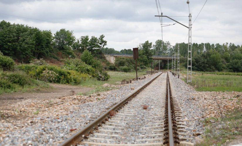 tren vías del tren