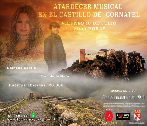 Atardecer musical: Gematría 94 @ Castillo de Cornatel