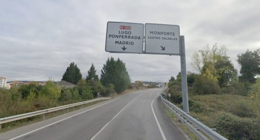 carretera N-120 Monforte