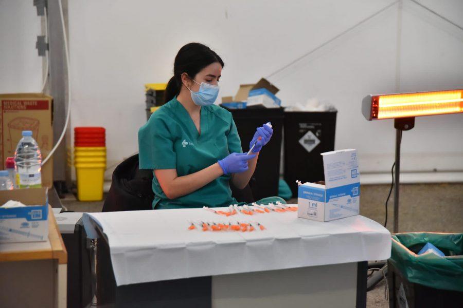 vacunación masiva en Ponferrada