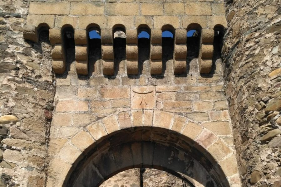 Símbolos del Castillo de Ponferrada