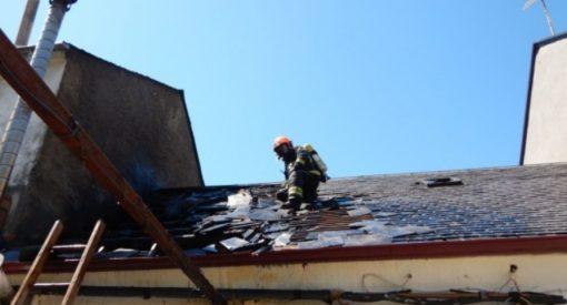 Incendio en una vivienda de Bembibre
