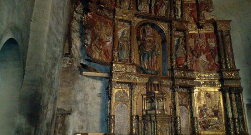 incendio en la iglesia de Balboa