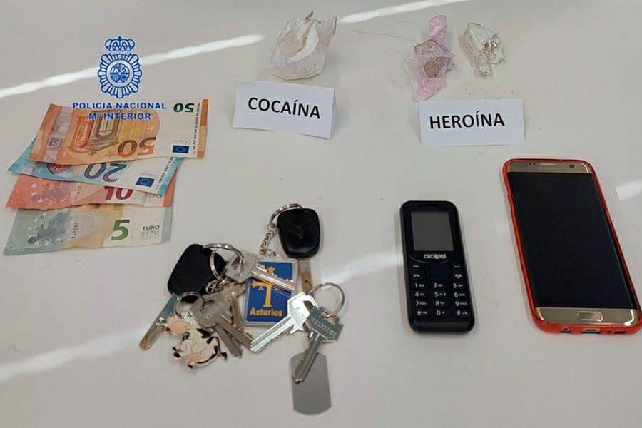 venta de droga en Fabero