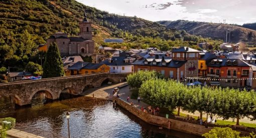 Descubre la playa fluvial de molinaseca en El Bierzo